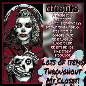 """Look out for Lots of """"Misfits"""" Items in my Closet!"""